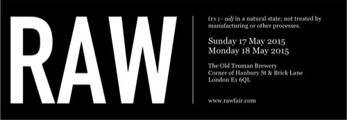 RAW — The Artisan Wine Fair 2015 — London, May 18 & 19