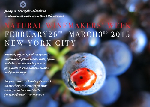 Natural Winemakers' Week 2015 NYC: Feb 26–Mar 3