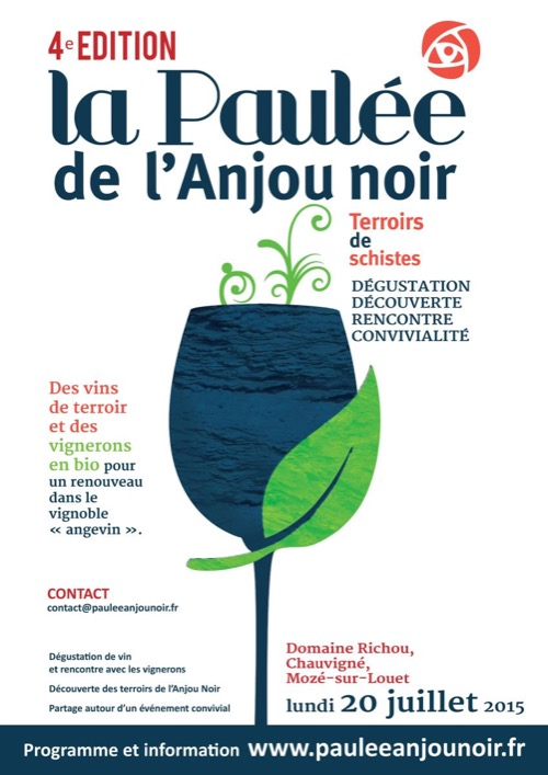 Anjou Organic Wine Event — Paulée de l'Anjou Noir — June 20th
