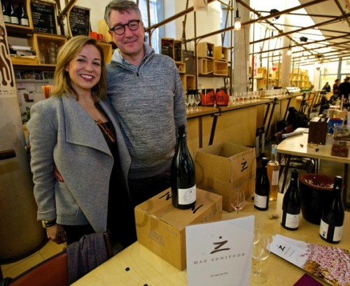 Brigitte Chevalier and Pierre Roque (Domaine de Cébène).