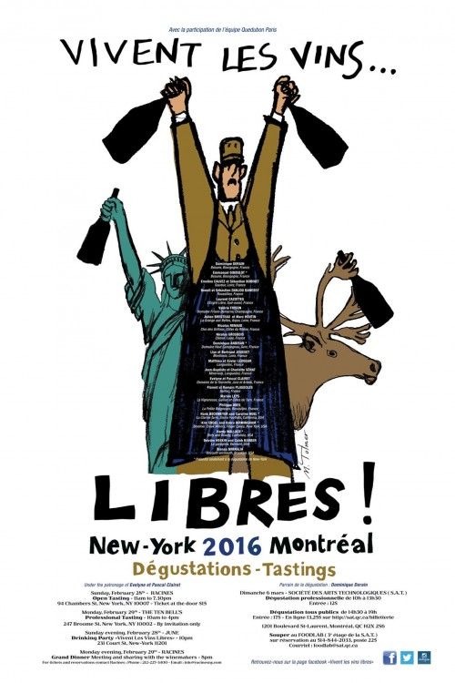 Vivent Les Vine Libres: Natural Wine Tasting In NYC, Feb 28-29